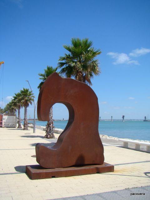 7 esculturas monumentales del artista Juan Méjica llenarán de arte la playa de la Ermita, Foto 4