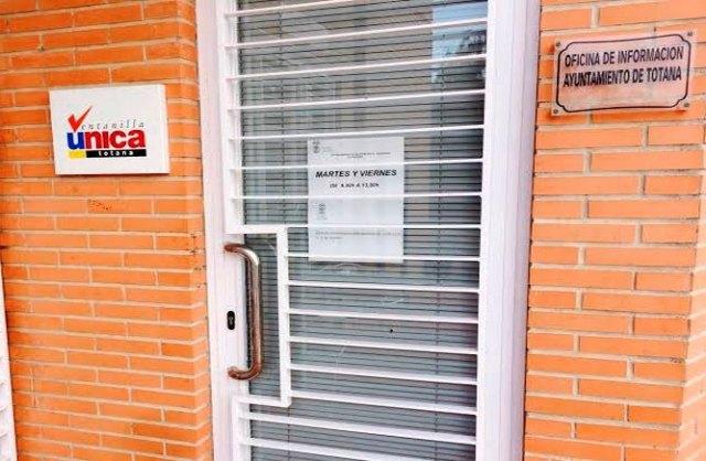 [Se cierra la Oficina de Atención al Ciudadano de El Paretón-Cantareros durante los meses de julio y agosto