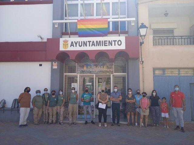 Lectura manifiesto por los derechos LGTBI 2021 en Ricote - 1, Foto 1