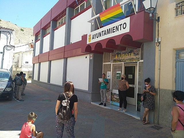 Lectura manifiesto por los derechos LGTBI 2021 en Ricote - 2, Foto 2