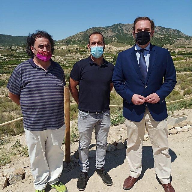 Visita del director general de competitividad y calidad turística a Ricote - 1, Foto 1