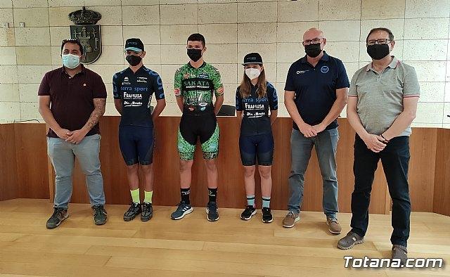 Tres ciclistas totaneros competirán con la Selección Murciana en el Campeonato de España Escolar de MTB - 1, Foto 1