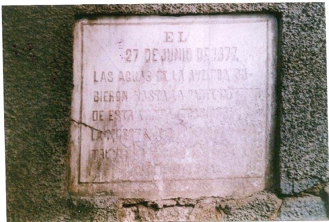 Totana vivió angustiosos momentos provocados por las inundaciones en 1877 y en 1964 - 4, Foto 4