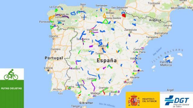 La DGT incluye la carretera de Gañuelas en un mapa de rutas protegidas para ciclistas - 1, Foto 1