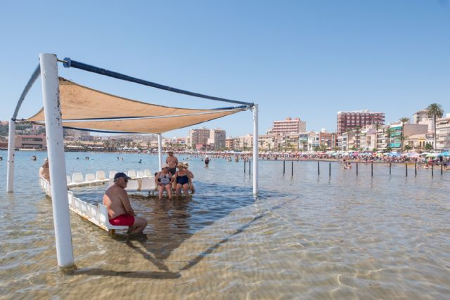 Baños adaptados para mayores y personas de movilidad reducida distinguen a Mazarrón como municipio inclusivo - 1, Foto 1