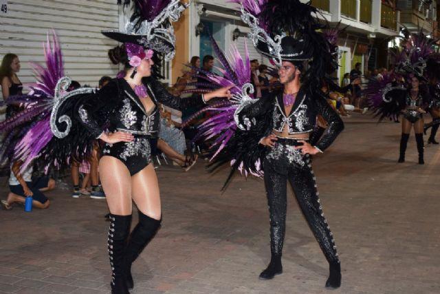 Flores del Mediterráneo se hace con el primer premio del carnaval de verano, Foto 1