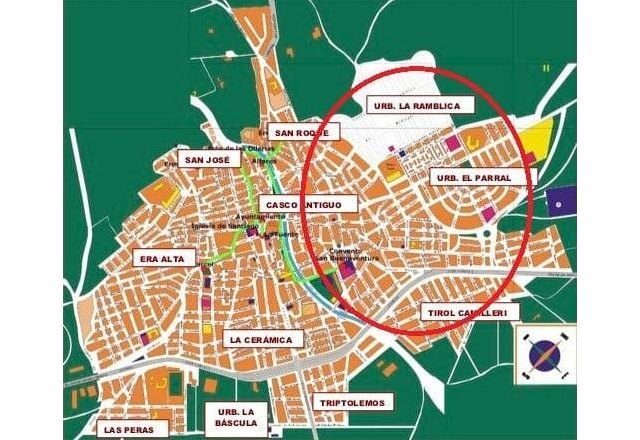 Tomorrow the water supply in El Parral and La Ramblica, and the Tirol Camilleri neighborhood will be cut off