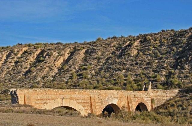 El acueducto de Zarzadilla de Totana entra en la lista roja del patrimonio - 1, Foto 1