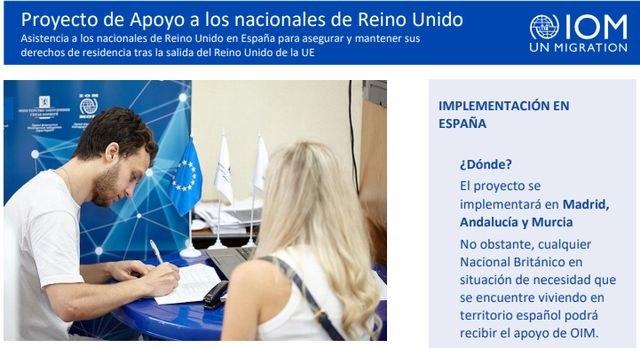 La OIM apoyará a la ciudadanía británica que desee mantener su residencia en España - 1, Foto 1