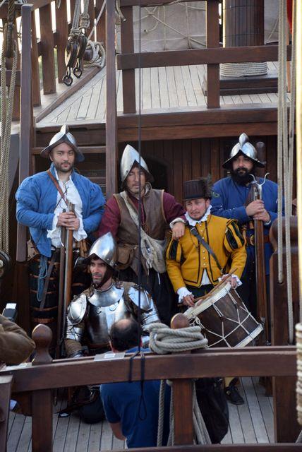 Los Tercio de Olivares recrearon la Historia de de la Navegación española - 5, Foto 5