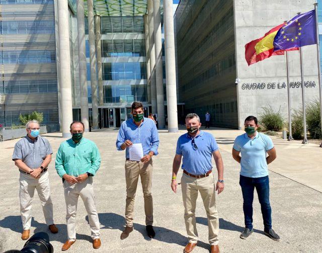 VOX Murcia denuncia ante la Fiscalía los vertidos al Mar Menor y exige que se depuren responsabilidades - 1, Foto 1