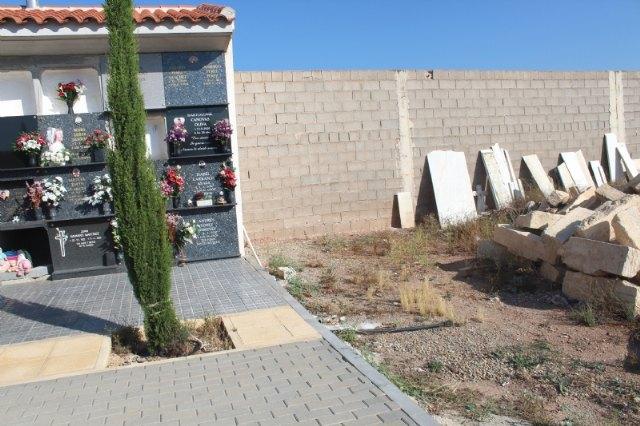 [Dan luz verde a la construcción de 40 nuevos nichos en el Cementerio Municipal