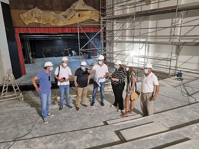 Las obras de remodelación del Centro Cultural avanzan a buen ritmo y a finales de año podrán ser disfrutadas por los ciezanos - 1, Foto 1
