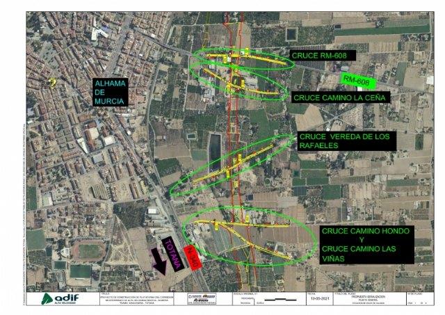Comienzan las obras del AVE en Alhama que modernizarán la red de cercanías - 1, Foto 1
