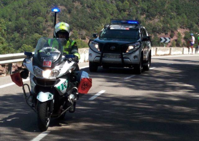 128 guardias civiles de la UMSV y un centenar de la Zona de Murcia velarán por la seguridad de La Vuelta a su paso por la Región, Foto 2