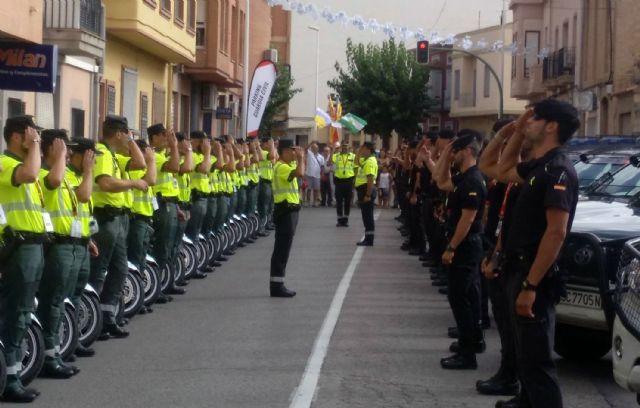 128 guardias civiles de la UMSV y un centenar de la Zona de Murcia velarán por la seguridad de La Vuelta a su paso por la Región, Foto 6