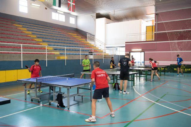 22 jugadores participan en la II concentración de tenis de mesa de Mazarrón - 2, Foto 2