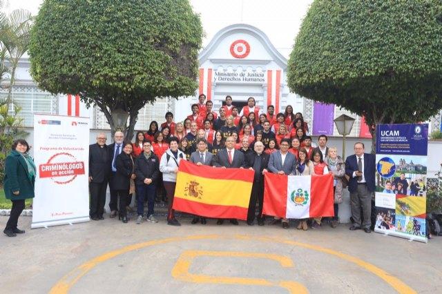 Profesores y alumnos de la UCAM regresan tras un intenso mes de voluntariado en Perú - 1, Foto 1