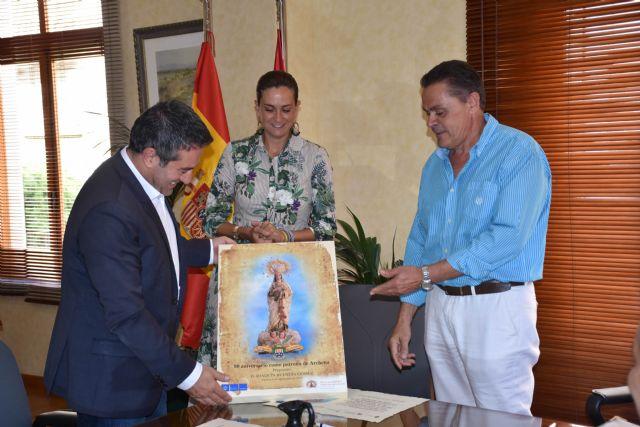 Joaquín Buendía, Alcalde de Alcantarilla, pregonero de las fiestas septembrinas de la Virgen de la Salud de Archena - 1, Foto 1