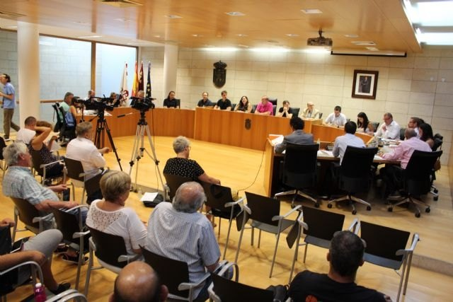 Mañana se celebran sendos plenos extraordinarios para dar cuenta de la renuncia de Andrés García Cánovas y determinar las indemnizaciones por asistencia a órganos colegiados y subvenciones a los grupos