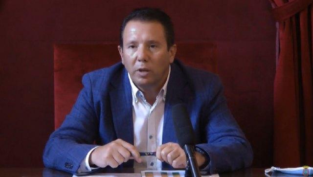 Mensaje oficial del alcalde de Mula informando sobre el repunte de casos por Covid-19 - 1, Foto 1