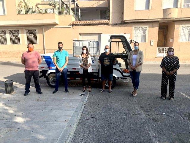 Recepción de vehículo eléctrico para la desinfección y limpieza de la vía pública - 1, Foto 1