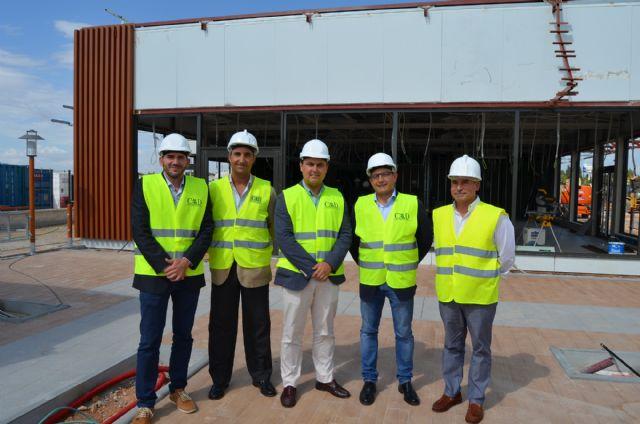 El alcalde visitó las obras de las nuevas instalaciones de Mcdonald's en San Javier, que han supuesto una inversión de más de dos millones de euros - 1, Foto 1