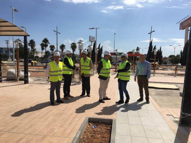 El alcalde visitó las obras de las nuevas instalaciones de Mcdonald's en San Javier, que han supuesto una inversión de más de dos millones de euros - 2, Foto 2