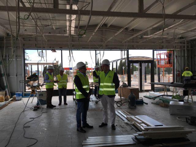 El alcalde visitó las obras de las nuevas instalaciones de Mcdonald's en San Javier, que han supuesto una inversión de más de dos millones de euros - 3, Foto 3