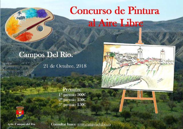Cultura presenta el I Concurso de Pintura al Aire Libre en Campos del Río - 1, Foto 1