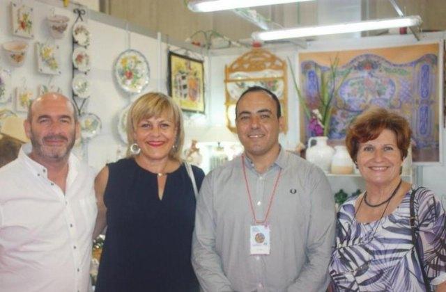 La concejal de Artesanía asiste a la inauguración de la XXXV Feria de Artesanía de la Región de Murcia (FERAMUR), en Lorca