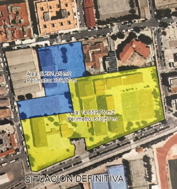 Contratadas las obras de traslado del vallado que aumentará los metros de patio del CEIP Carmen Conde - 1, Foto 1