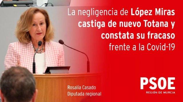 El PSOE exige al Gobierno regional que explique lo que no ha hecho bien para tener que confinar de nuevo Totana - 2, Foto 2