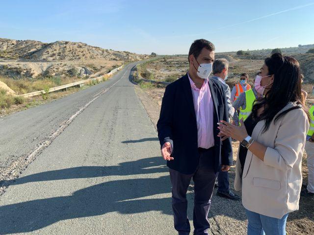 La Comunidad inicia la ampliación y mejora del firme de la carretera que une Campos del Río y Alguazas - 1, Foto 1