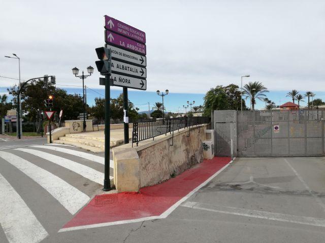Huerta Viva denuncia la destrucción y ocupación del talud del Malecón por parte del colegio AYS - 1, Foto 1