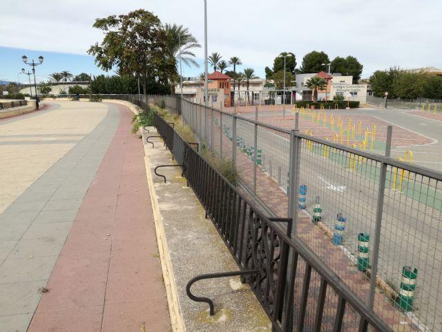 Huerta Viva denuncia la destrucción y ocupación del talud del Malecón por parte del colegio AYS - 2, Foto 2