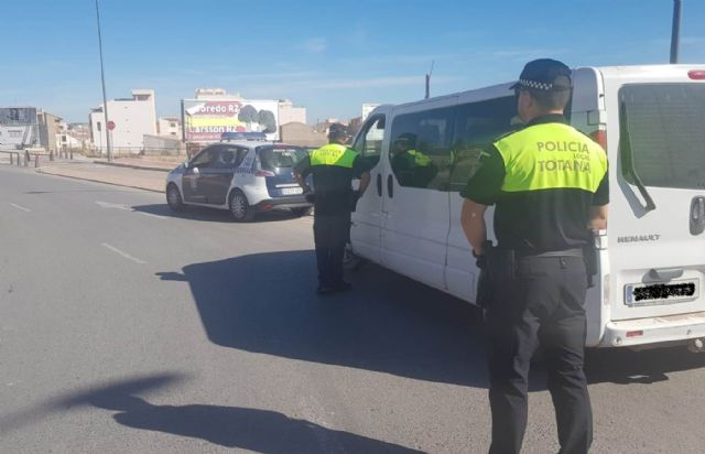 The Local Police starts today a van control campaign promoted by the DGT