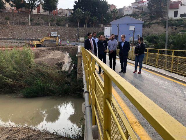 Un nuevo puente en Ulea mejorará los accesos y la seguridad vial en el Valle de Ricote - 1, Foto 1