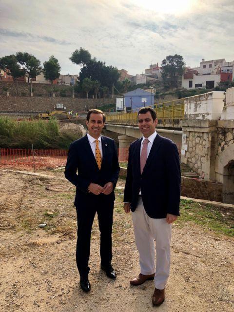 Un nuevo puente en Ulea mejorará los accesos y la seguridad vial en el Valle de Ricote - 2, Foto 2