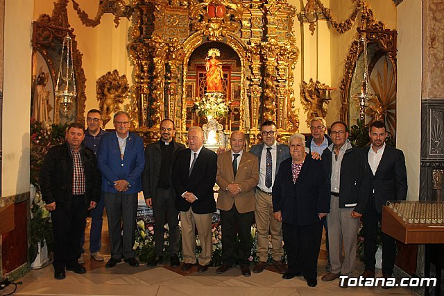 The La Santa Foundation celebrated the 375 years that Santa Eulalia is patron of Totana