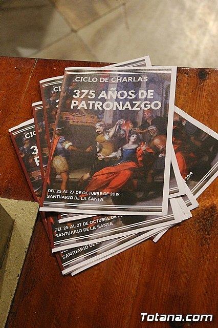 La Fundaci�n La Santa celebr� los 375 años que Santa Eulalia es patrona de Totana, Foto 2