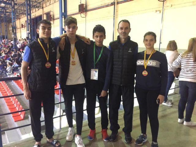 3 medallas para el Club Taekwondo Mazarrón en el open