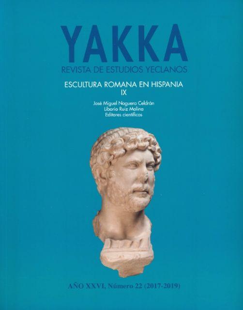 El Ayuntamiento de Yecla y la Universidad de Murcia editan el libro Escultura Romana en Hispania IX - 1, Foto 1