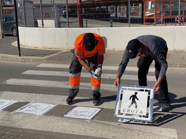 Presentación nueva señalética vertical y horizontal en el municipio de Torre Pacheco - 1, Foto 1