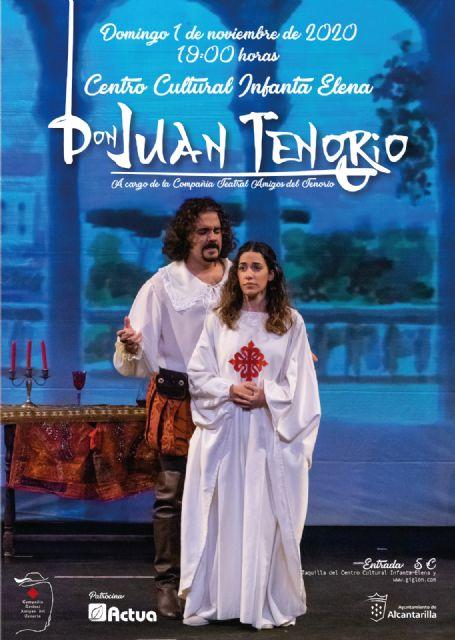Vuelve Don Juan Tenorio al escenario del Centro Cultural Infanta Elena para celebrar la festividad de Todos los Santos - 1, Foto 1
