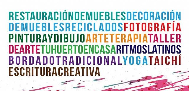 La Concejalía de Cultura de Molina de Segura ofrece un  amplio programa de Cursos y Talleres online para los meses de noviembre y diciembre de 2020 - 1, Foto 1