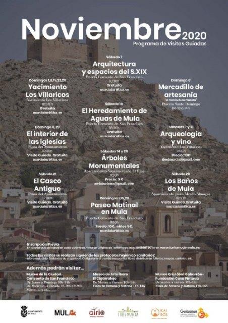 Programa de visitas y Mercadillo del mes de noviembre - 1, Foto 1