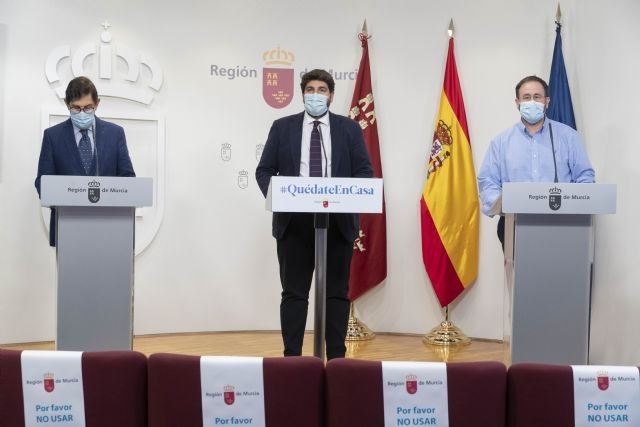 El Comité de Seguimiento Covid acuerda el confinamiento territorial de la Región de Murcia y de sus 45 municipios