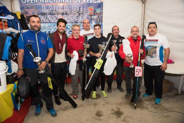 Más de 110 participantes en el open nacional de pesca de Mazarrón, Foto 1
