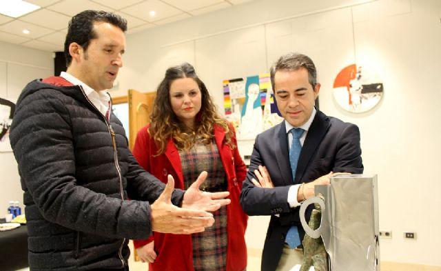 Lorquí acoge la exposición del artista murciano Álvaro Peña - 1, Foto 1